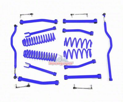 Steinjager 2.5 in. Advanced Lift Kit - Southwest Blue (07-18 Jeep Wrangler JK)