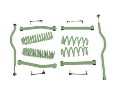 Steinjager 2.5 in. Expanded Lift Kit for Right Hand Drive - Locas Green (07-18 Jeep Wrangler JK)