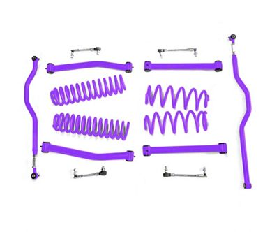 Steinjager 2.5 in. Expanded Lift Kit for Right Hand Drive - Sinbad Purple (07-18 Jeep Wrangler JK)
