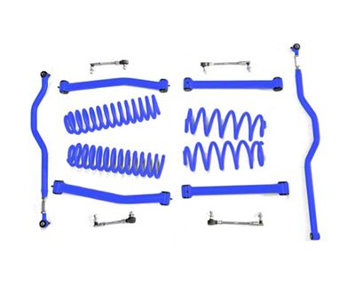 Steinjager 2.5 in. Expanded Lift Kit for Right Hand Drive - Southwest Blue (07-18 Jeep Wrangler JK)