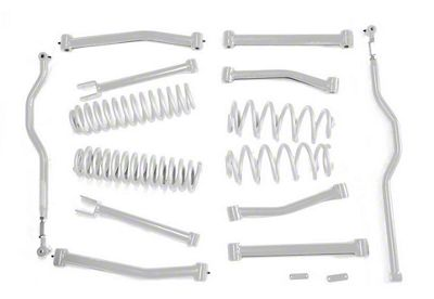 Steinjager 4 in. Advanced Lift Kit - Cloud White (07-18 Jeep Wrangler JK)