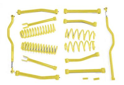 Steinjager 4 in. Advanced Lift Kit - Lemon Peel (07-18 Jeep Wrangler JK)