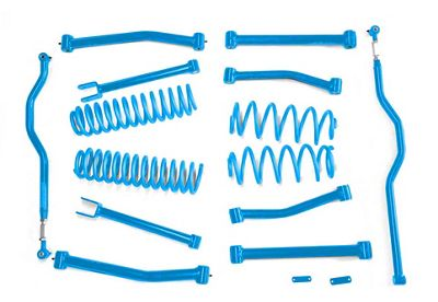 Steinjager 4 in. Advanced Lift Kit - Playboy Blue (07-18 Jeep Wrangler JK)