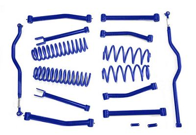 Steinjager 4 in. Advanced Lift Kit - Southwest Blue (07-18 Jeep Wrangler JK)