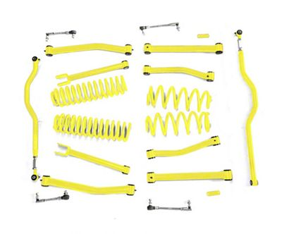 Steinjager 4 in. Advanced Lift Kit for Right Hand Drive - Lemon Peel (07-18 Jeep Wrangler JK)
