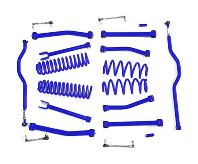 Steinjager 4 in. Advanced Lift Kit for Right Hand Drive - Southwest Blue (07-18 Jeep Wrangler JK)