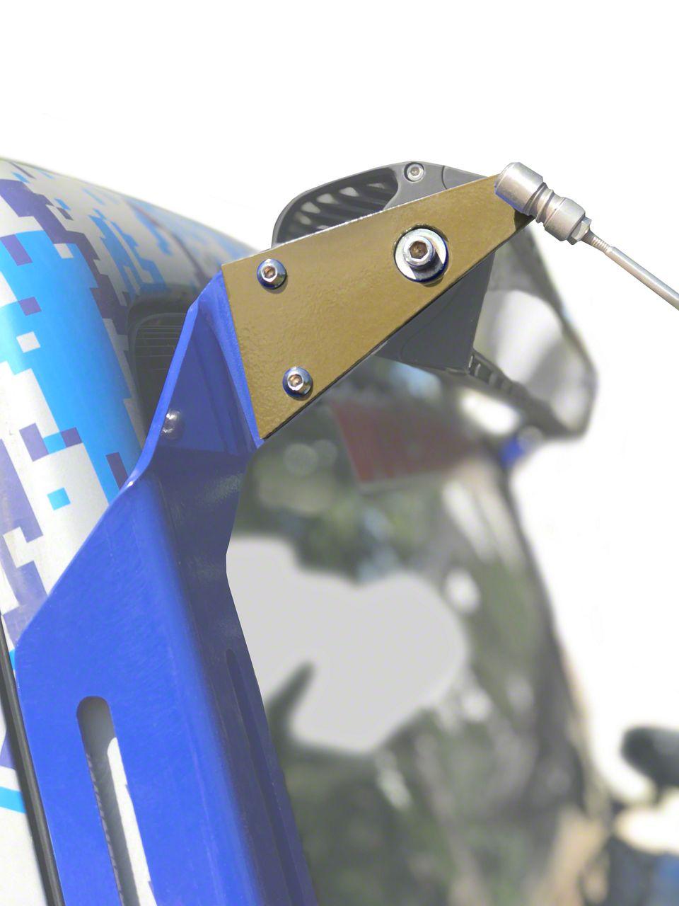 Steinjager A-Pillar Limb Riser Adaptor Brackets - Military Beige (07-18 Jeep Wrangler JK)