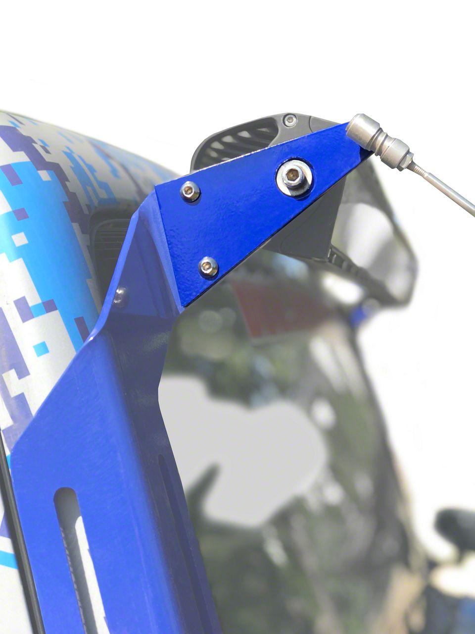Steinjager A-Pillar Limb Riser Adaptor Brackets - Southwest Blue (07-18 Jeep Wrangler JK)