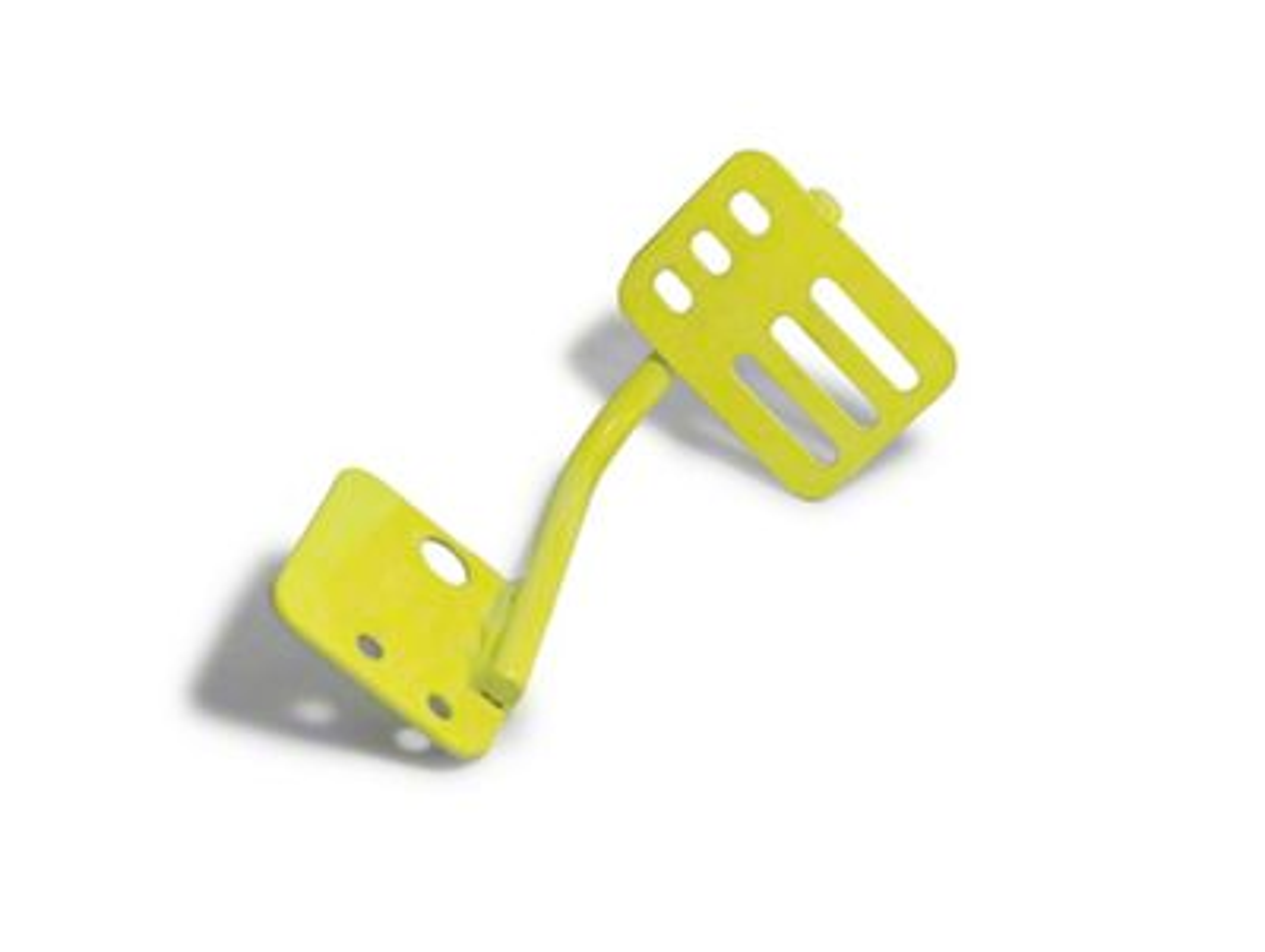 Steinjager Dead Pedal - Lemon Peel (07-18 Jeep Wrangler JK)