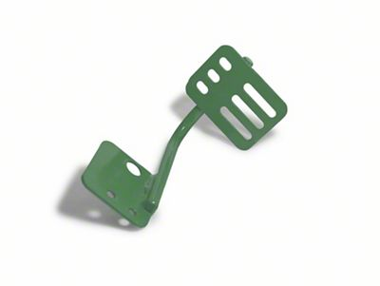 Steinjager Dead Pedal - Locas Green (07-18 Jeep Wrangler JK)