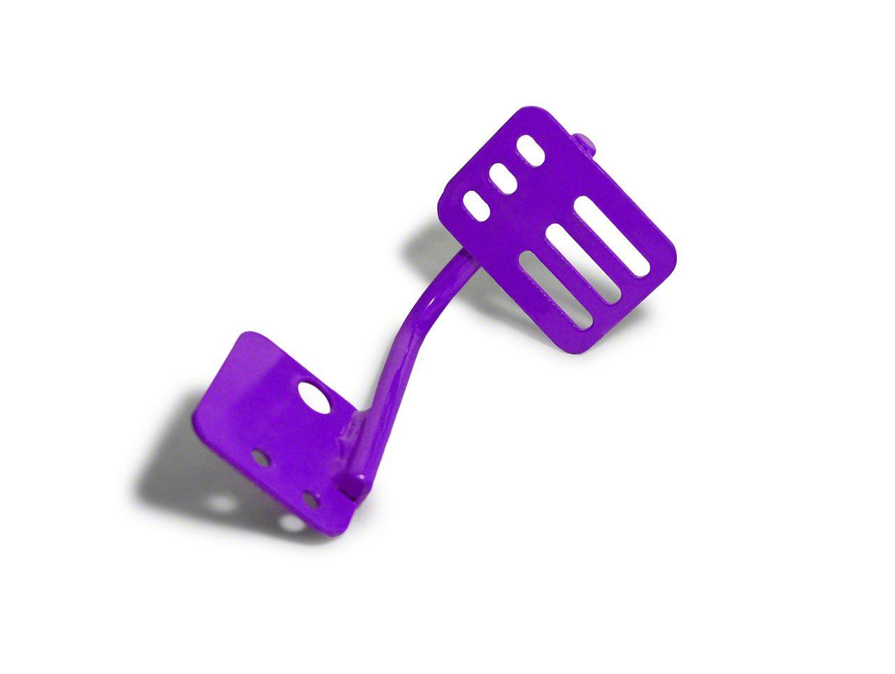 Steinjager Dead Pedal - Sinbad Purple (07-18 Jeep Wrangler JK)