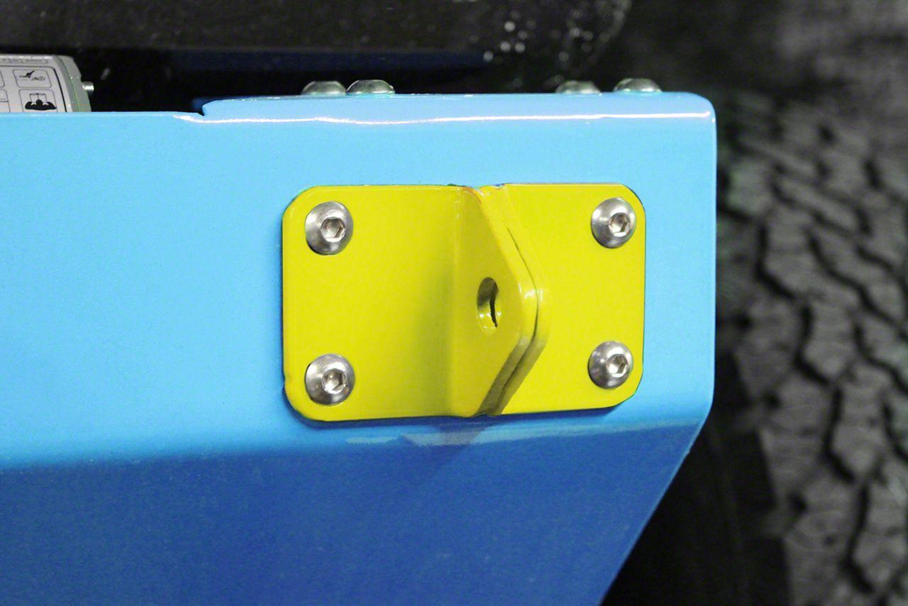 Steinjager D-Ring Mount - Lemon Peel (07-18 Jeep Wrangler JK)
