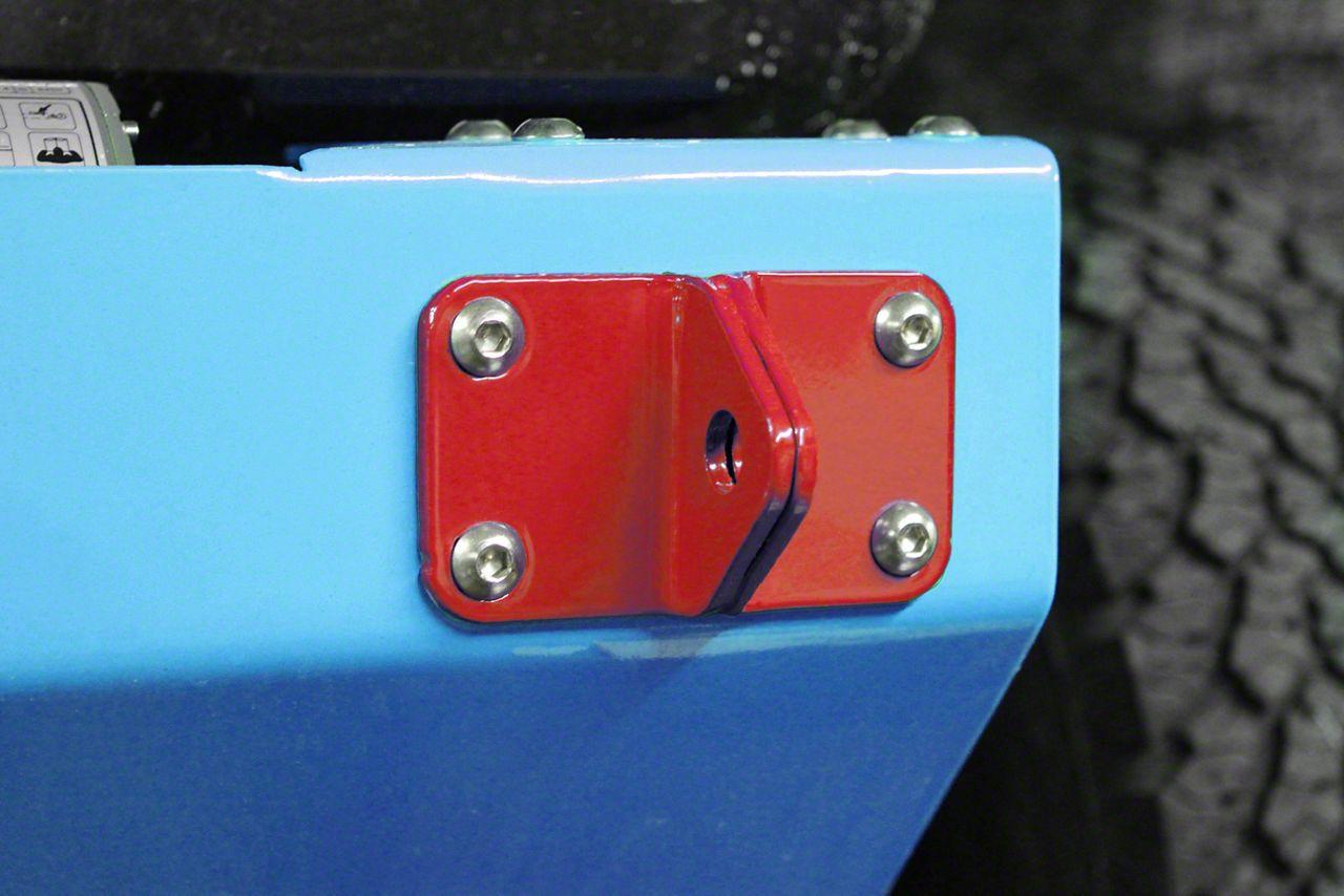 Steinjager D-Ring Mount - Red Baron (07-18 Jeep Wrangler JK)
