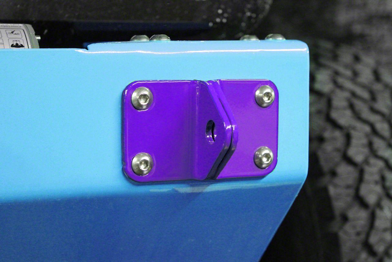Steinjager D-Ring Mount - Sinbad Purple (07-18 Jeep Wrangler JK)