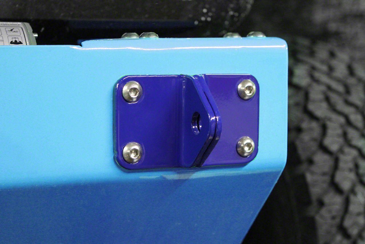 Steinjager D-Ring Mount - Southwest Blue (07-18 Jeep Wrangler JK)
