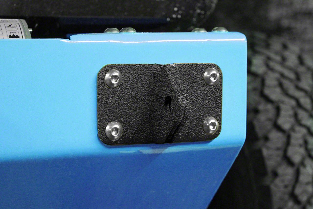 Steinjager D-Ring Mount - Textured Black (07-18 Jeep Wrangler JK)