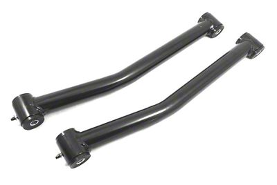 Steinjager Fixed Length Front Lower Control Arms for 0-2.5 in. Lift - Black (07-18 Jeep Wrangler JK)