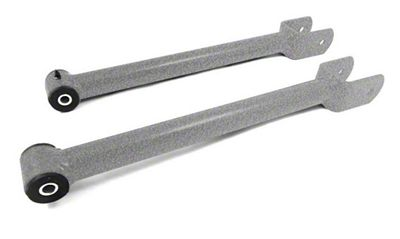 Steinjager Fixed Length Front Upper Control Arms for 0-2.5 in. Lift - Gray Hammertone (07-18 Jeep Wrangler JK)