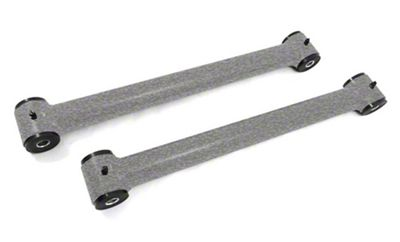 Steinjager Fixed Length Rear Lower Control Arms for 0-2.5 in. Lift - Gray Hammertone (07-18 Jeep Wrangler JK)