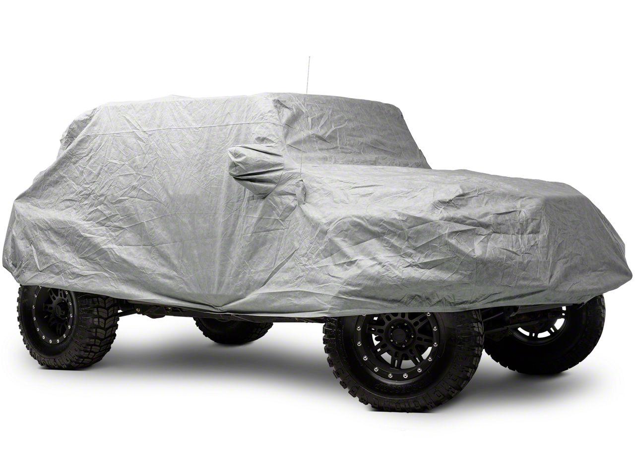Smittybilt Full Climate Jeep Cover (07-18 Jeep Wrangler JK 4 Door)