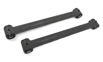 Steinjager Fixed Length Rear Lower Control Arms for 0-2.5 in. Lift - Textured Black (07-18 Jeep Wrangler JK)