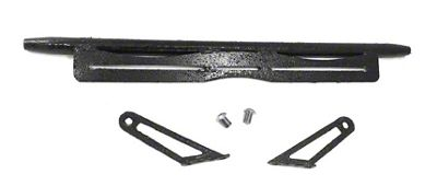 Steinjager LED Light Bar Hood Hinge Mounting Brackets - Textured Black (07-18 Jeep Wrangler JK)