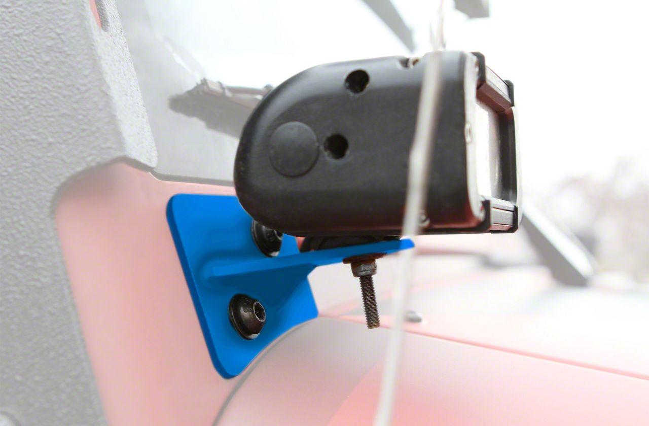 Steinjager LED Lights w/ Lower Windshield Mounting Brackets - Playboy Blue (07-18 Jeep Wrangler JK)