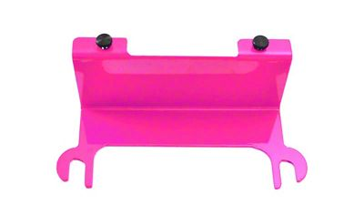 Steinjager License Plate Relocation Kit - Hot Pink (07-18 Jeep Wrangler JK)