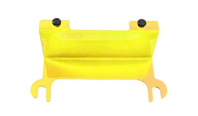 Steinjager License Plate Relocation Kit - Neon Yellow (07-18 Jeep Wrangler JK)