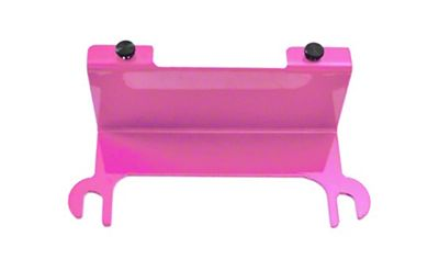 Steinjager License Plate Relocation Kit - Pinky (07-18 Jeep Wrangler JK)