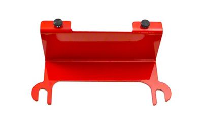 Steinjager License Plate Relocation Kit - Red Baron (07-18 Jeep Wrangler JK)