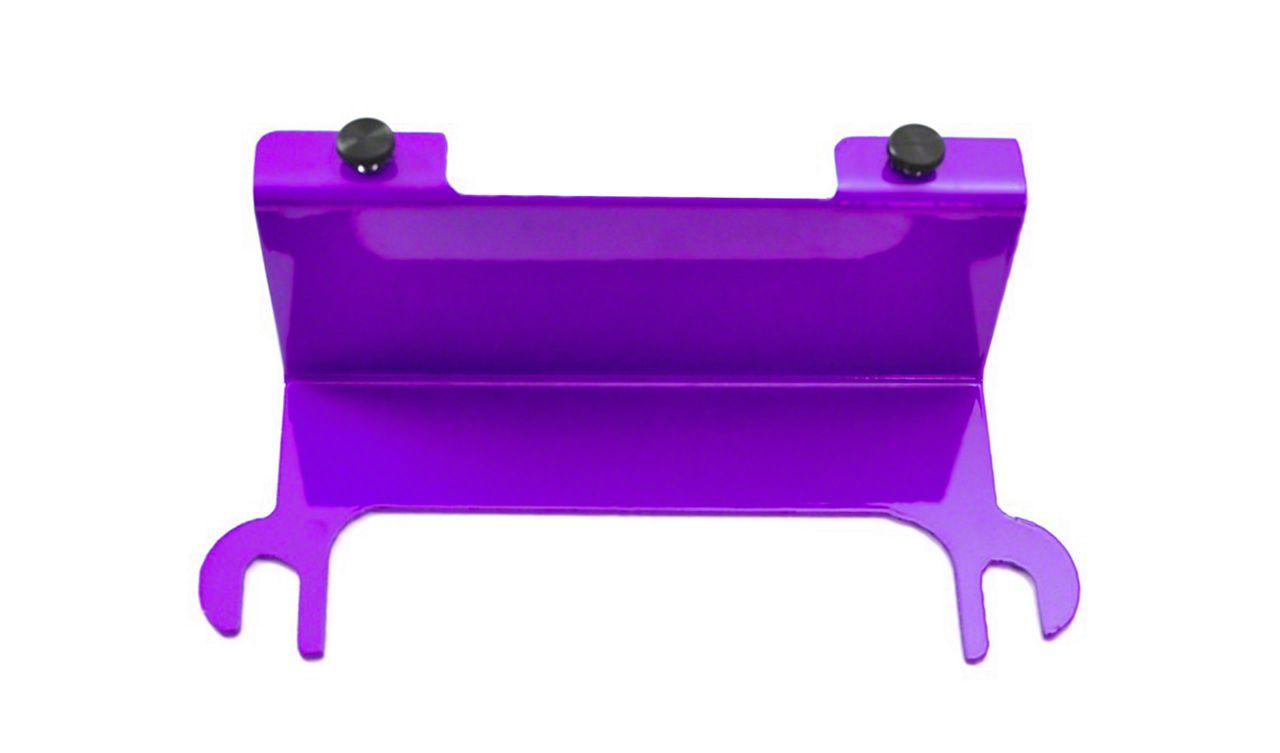 Steinjager License Plate Relocation Kit - Sinbad Purple (07-18 Jeep Wrangler JK)