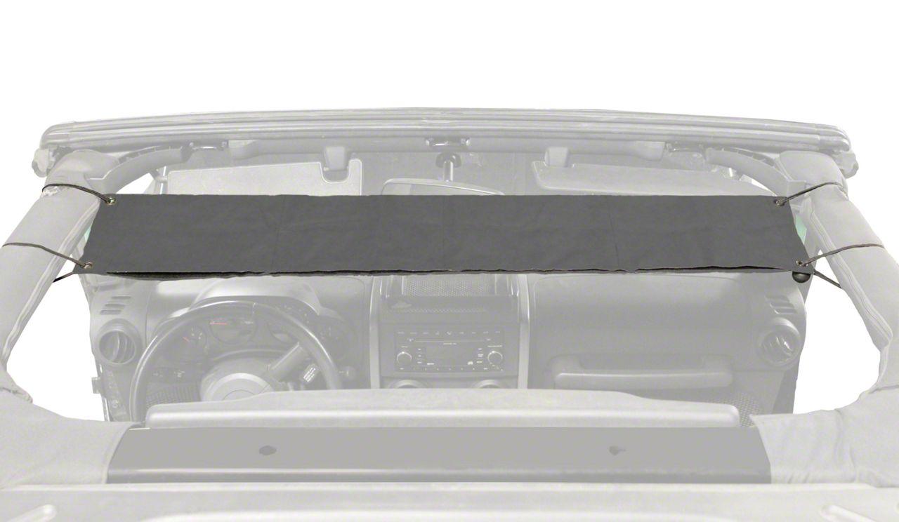 Steinjager Overhead Pocket - Charcoal (07-18 Jeep Wrangler JK)