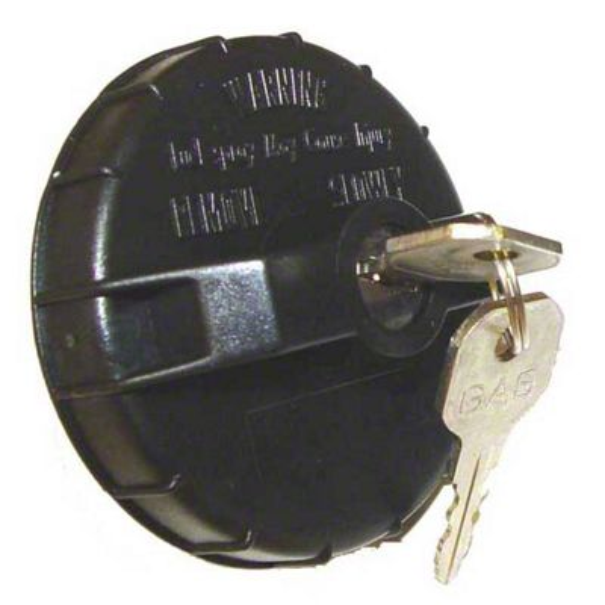 Omix-ADA Gas Cap - Locking (91-95 Jeep Wrangler YJ)