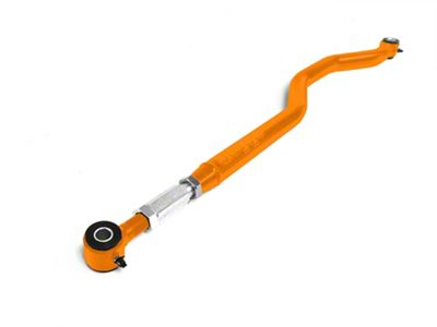 Steinjager Poly/Poly Chrome Moly Track Bar for 0-6 in. Lift - Flourescent Orange (07-18 Jeep Wrangler JK)