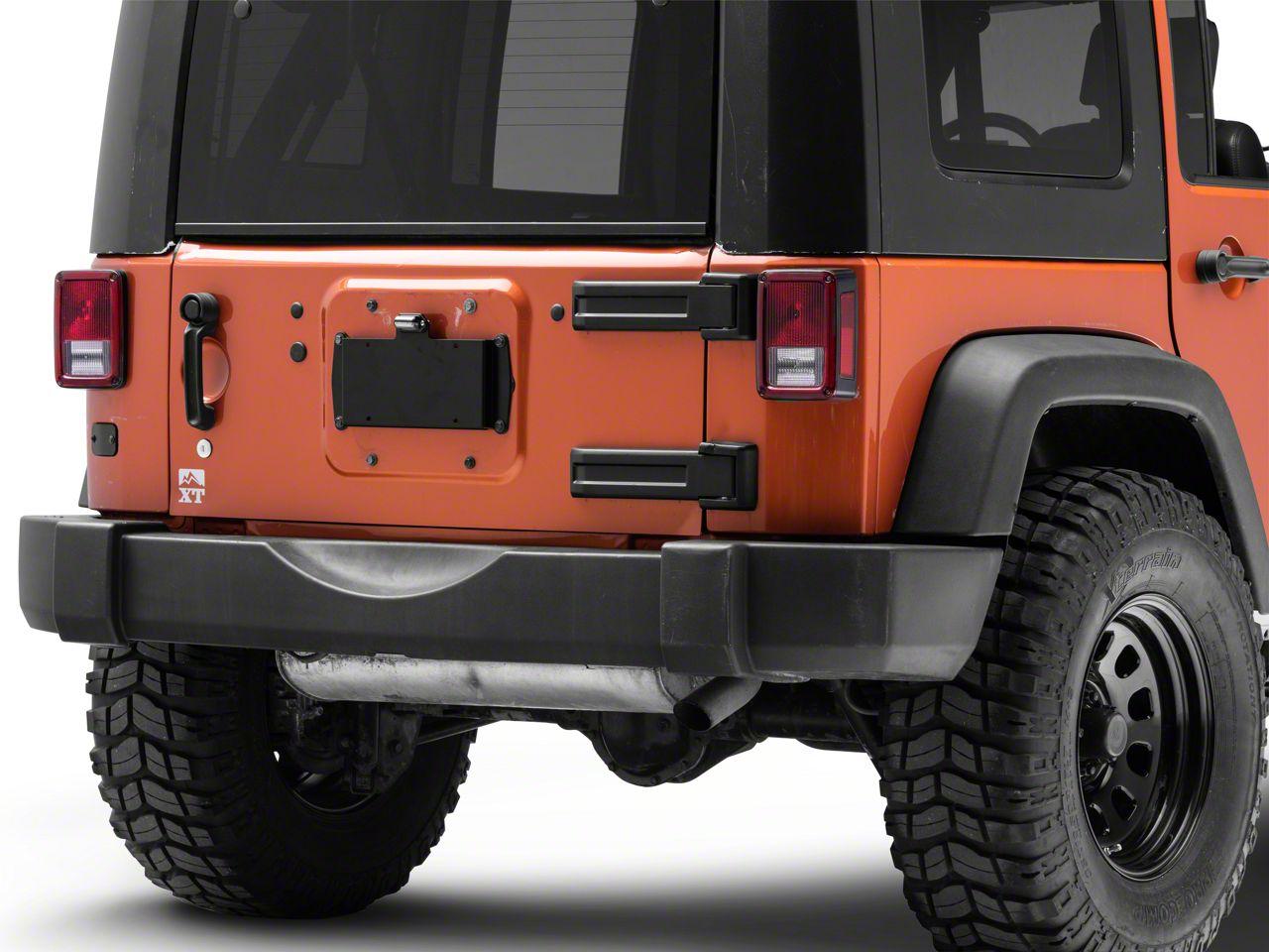 Steinjager Tailgate Plug Kit (07-18 Jeep Wrangler JK)