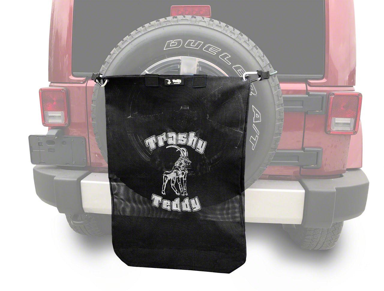 Steinjager Trashy Teddy - Black (07-18 Jeep Wrangler JK)