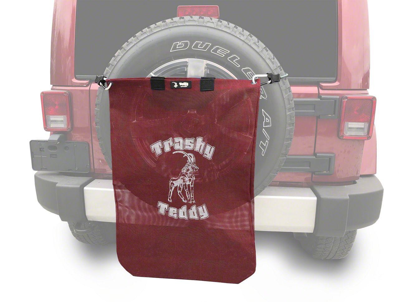Steinjager Trashy Teddy - Burgundy (07-18 Jeep Wrangler JK)