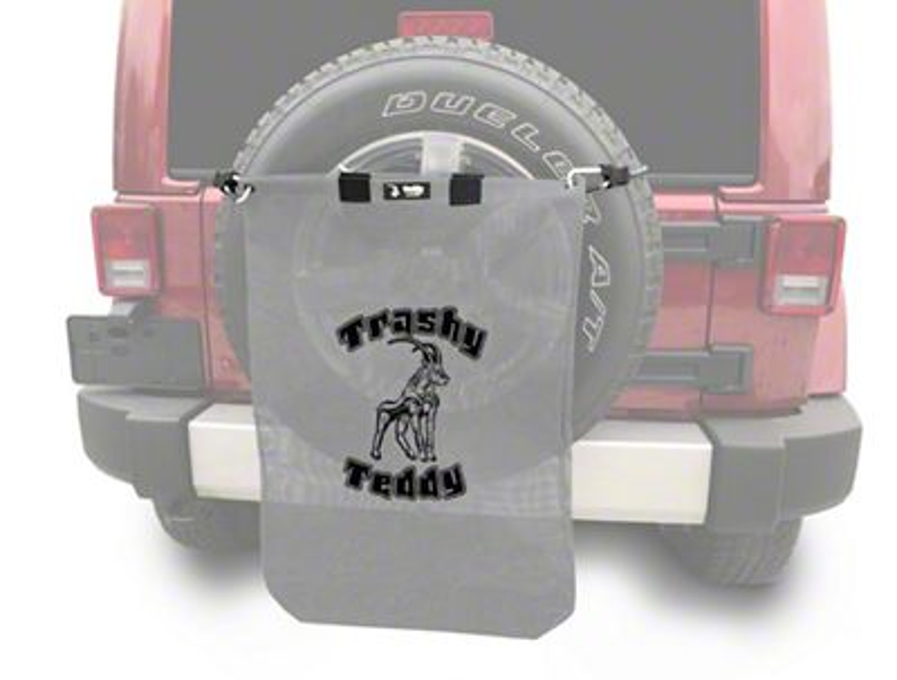Steinjager Trashy Teddy - Gray (07-18 Jeep Wrangler JK)