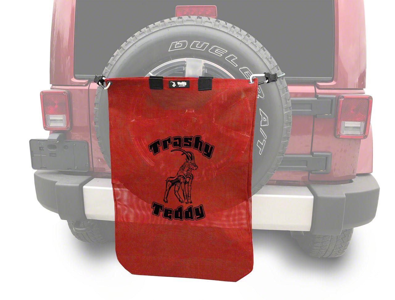 Steinjager Trashy Teddy - Red (07-18 Jeep Wrangler JK)
