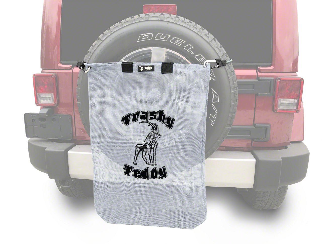 Steinjager Trashy Teddy - White (07-18 Jeep Wrangler JK)