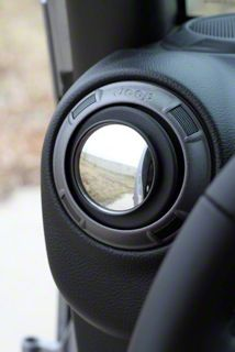 Steinjager Vent Mounted Mirror (07-18 Jeep Wrangler JK)
