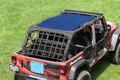 Steinjager Teddy Top Solar Screen Cover - Blue (10-18 Jeep Wrangler JK 4 Door)