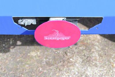 Steinjager Hitch Cover - Hot Pink (87-19 Jeep Wrangler YJ, TJ, JK & JL)