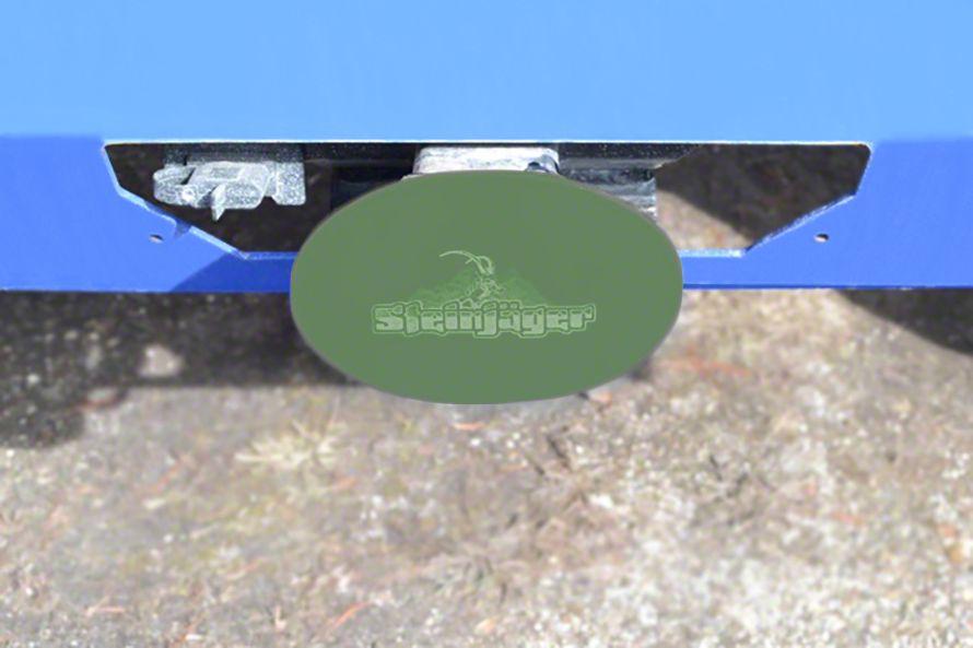Steinjager Hitch Cover - Locas Green (87-19 Jeep Wrangler YJ, TJ, JK & JL)