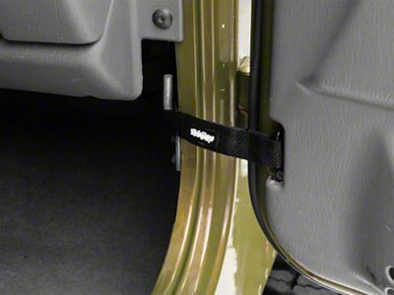 Steinjager Factory Door Limiting Straps - Black (97-06 Jeep Wrangler TJ)
