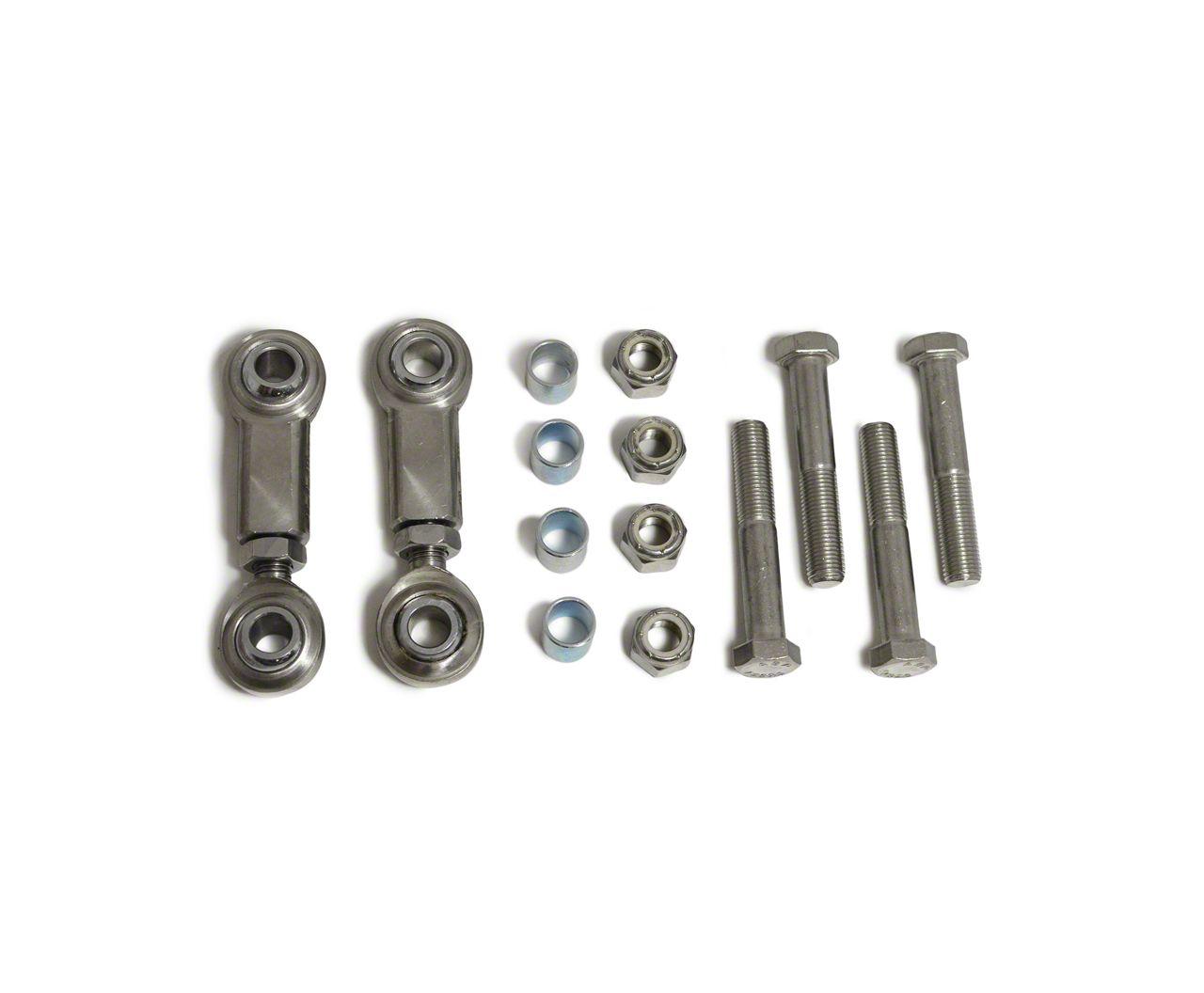 Steinjager Hood Latch Kit - Plated Steel (97-06 Jeep Wrangler TJ)
