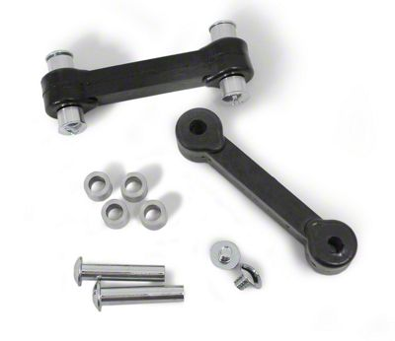 Steinjager Hood Latch Kit - Poly Black (97-06 Jeep Wrangler TJ)