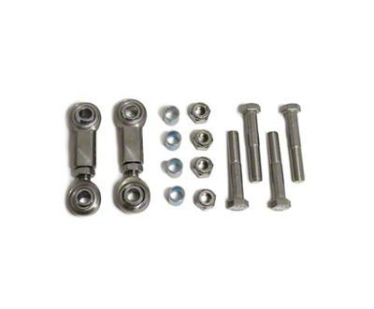 Steinjager Hood Latch Kit - Stainless Steel (97-06 Jeep Wrangler TJ)