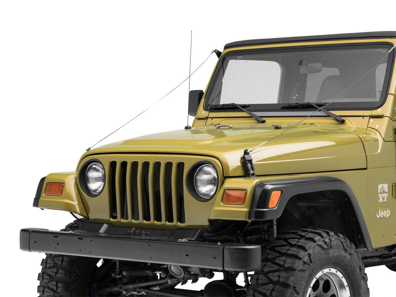 Steinjager Limb Riser Kit (97-06 Jeep Wrangler TJ)